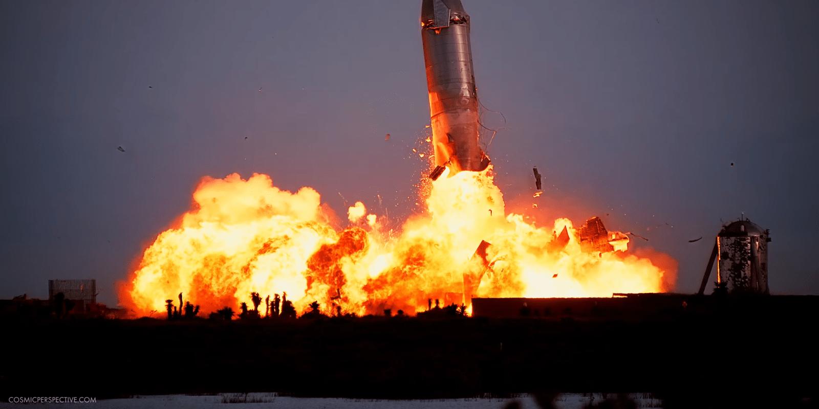 Илон Маск знает, почему взорвался прототип корабля Starship